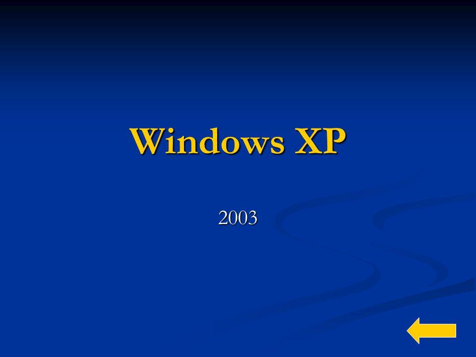 Windows XP 2003