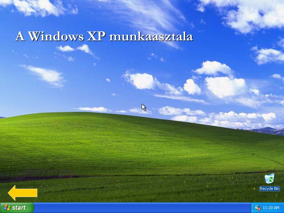A Windows XP munkaasztala