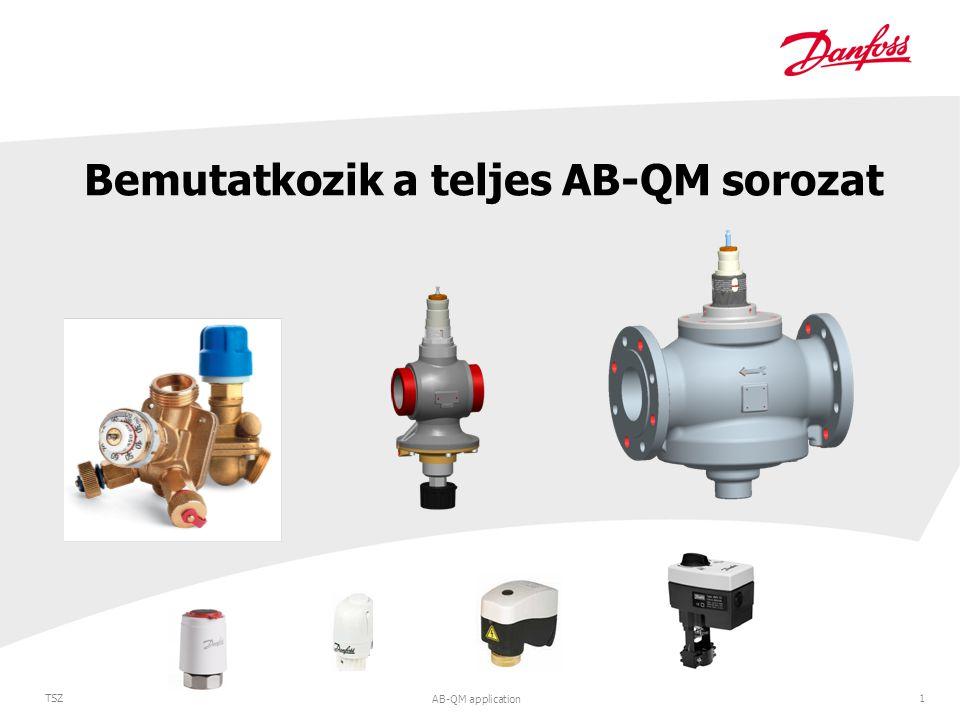 AB-QM application 1 TSZ Bemutatkozik a teljes AB-QM sorozat