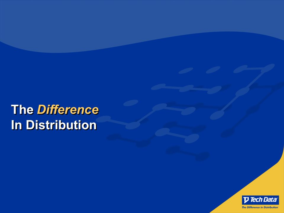 The Difference In Distribution