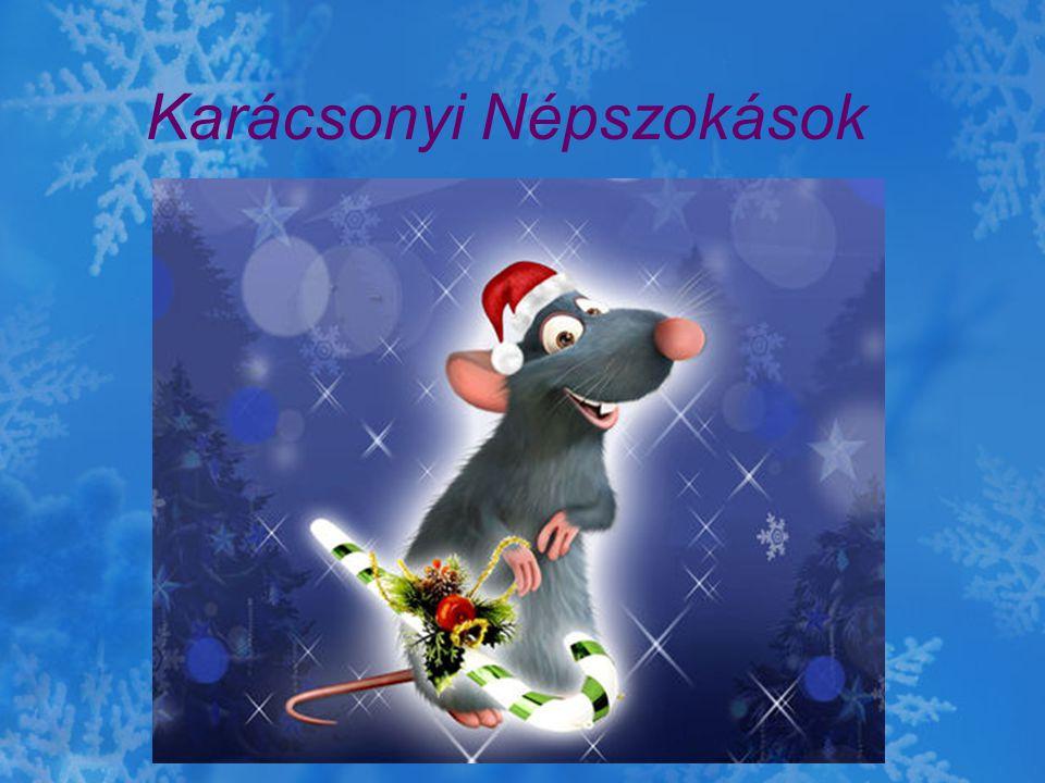 Karácsonyi Népszokások