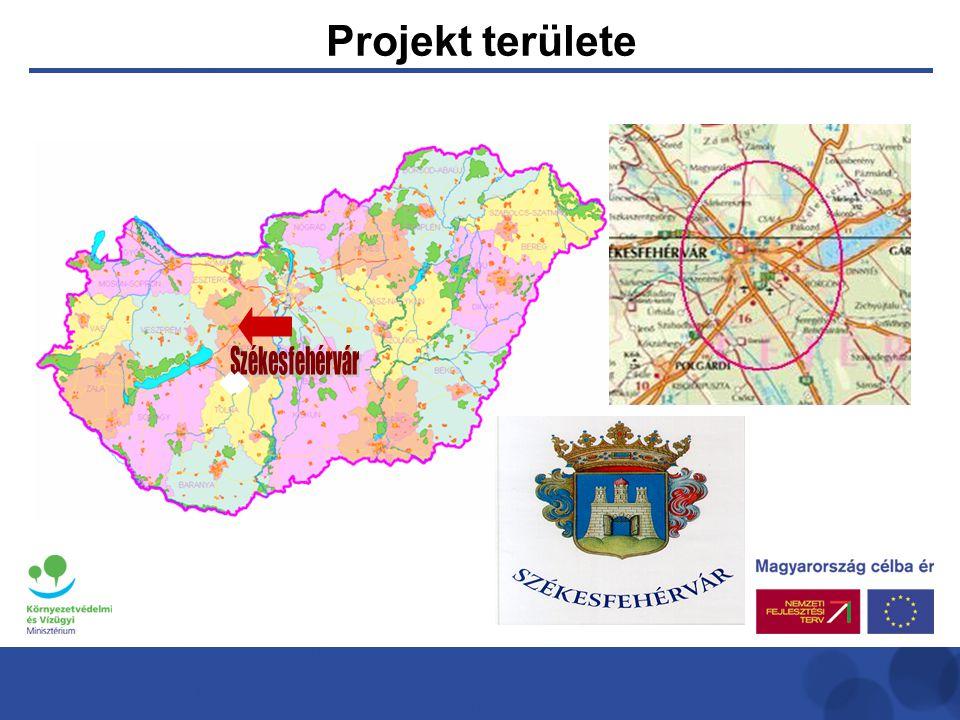 Projekt területe