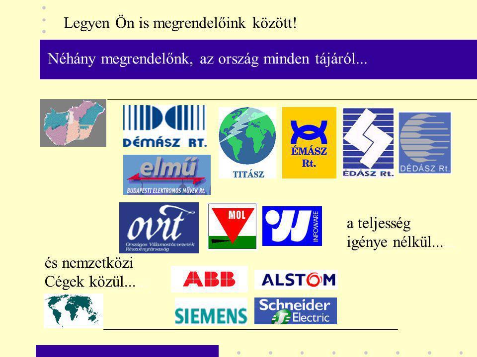 Egyik legnagyobb megvalósult létesítményünk...az ELMÜ RT.
