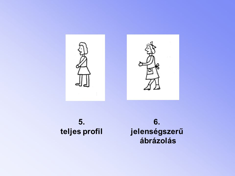 2.a mozgás ábrázolása 1. mozgás-jelzés nélkül 2. merev-mozgás 3.