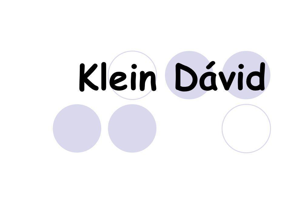 Klein Dávid