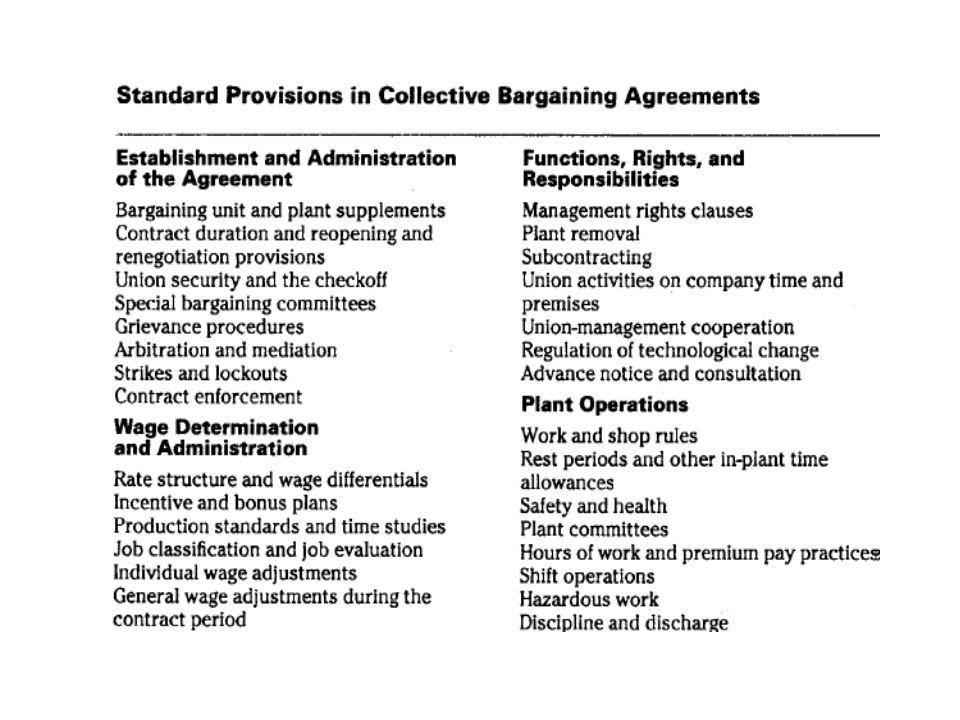 Kötelmi rész (folytatás) •A munkaügyi viták rendezésével kapcsolatos eljárások –Kollektív viták kezelése: jellemzően nem különülnek el élesen egymástól a kollektív érdek- és a jogviták megoldására előírt eljárások és az eljárások lefolytatására feljogosított szervek –Követendő gyakorlat a paritásos bizottságokban folytatott közvetlen tárgyalások, megakadásuk esetére a közvetítés kikötése •A sztrájkra vonatkozó rendelkezések –sztrájkmegállapodást vagy sztrájkszabályzatot mellékelnek, jellemzően sok a sztrájkjogot jogellenese megszorító szabály •Egyéni viták kezelésének szabályozása –Kimutatható a törekvés a munkahelyi szintű vitakezelés biztosítására.