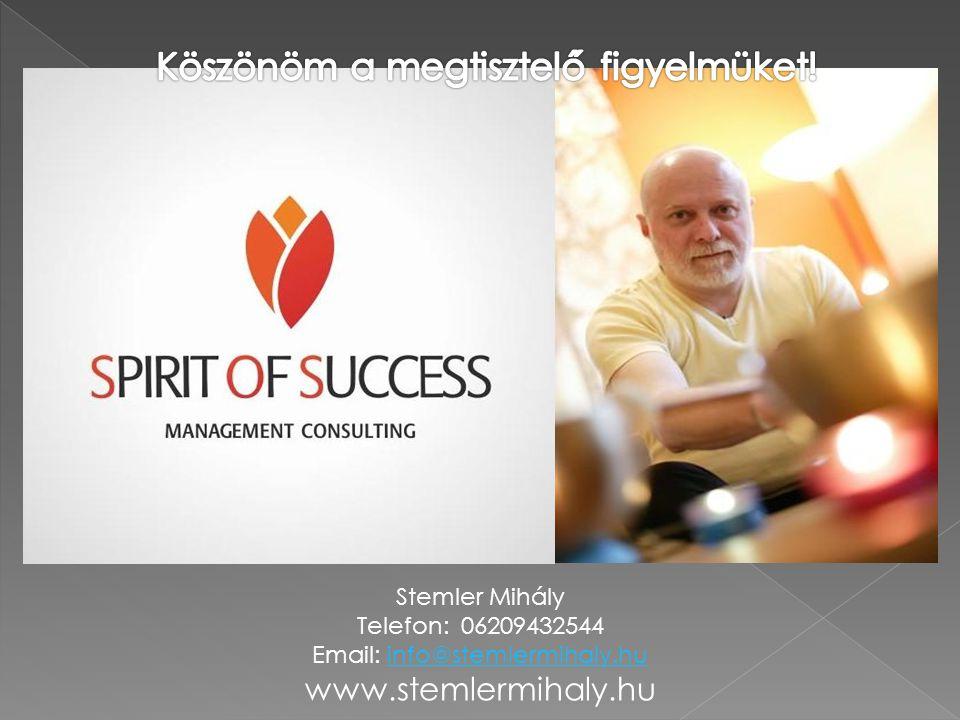 Stemler Mihály Telefon: 06209432544 Email: info@stemlermihaly.huinfo@stemlermihaly.hu www.stemlermihaly.hu