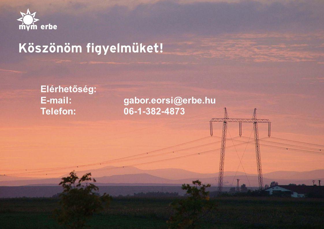 11 Elérhetőség: E-mail:gabor.eorsi@erbe.hu Telefon:06-1-382-4873