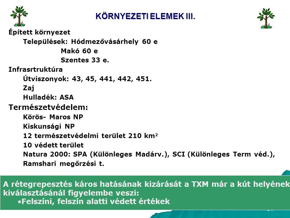 14 KÖRNYEZETI ELEMEK III.