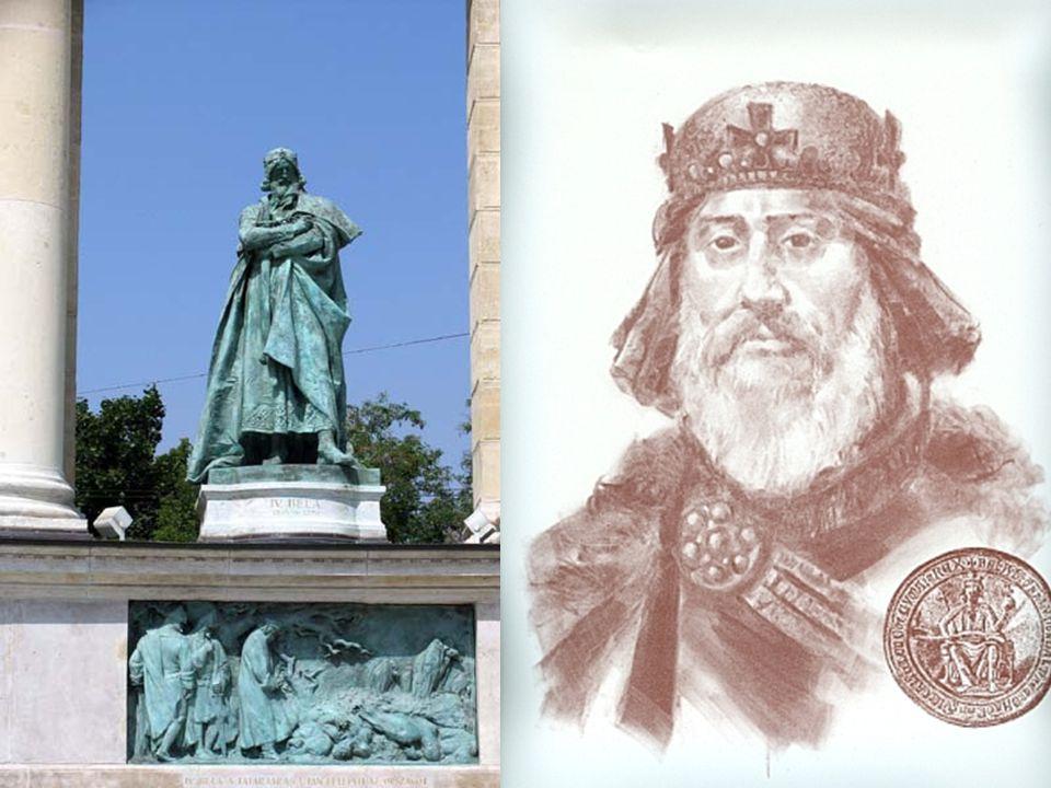  II.András halála után apja politikáját élesen bíráló IV.