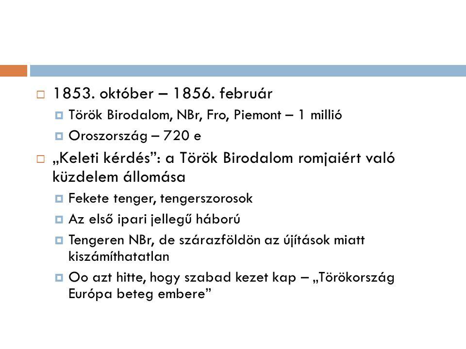 """ 1851-ben III.Napóleon Fro a """"szent föld védelmezője  Törökök elfogadták – I."""