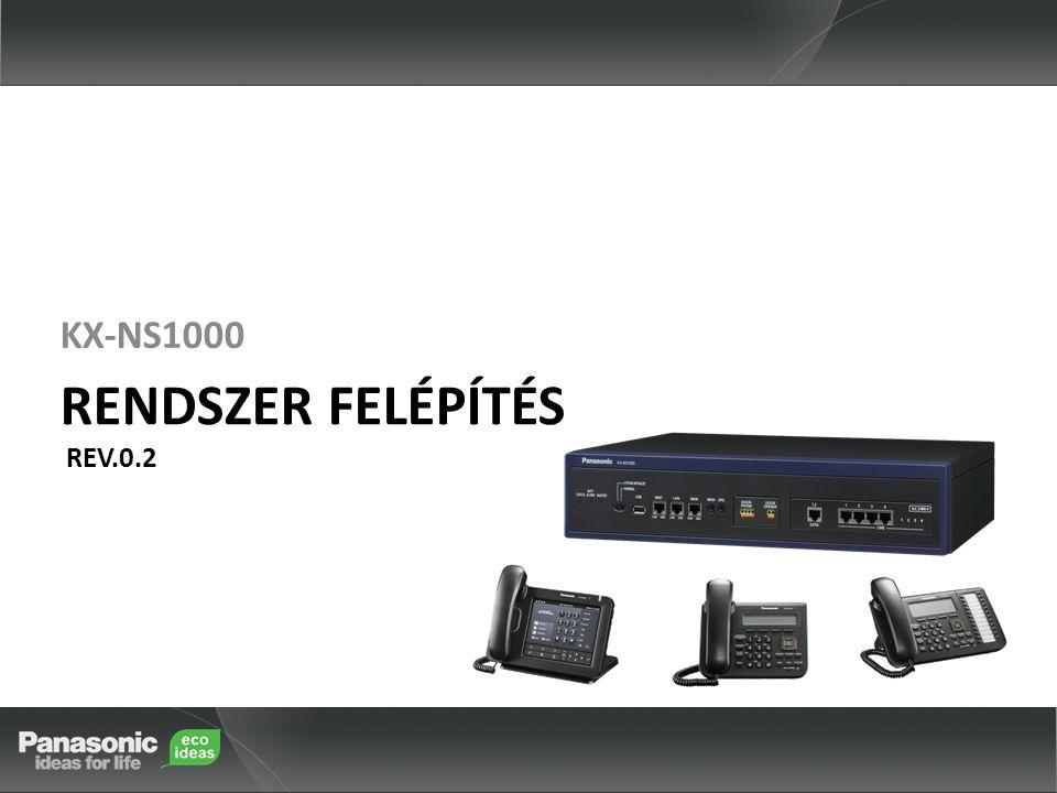 KX-NS1000 RENDSZER FELÉPÍTÉS REV.0.2 KX-NS1000