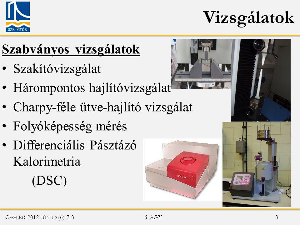 C EGLÉD, 2012. JÚNIUS (6)-7-8. 6. AGY 19 DSC mérési görbe