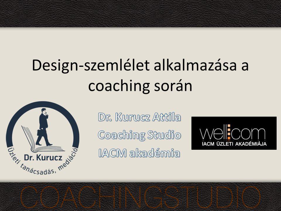 Design-szemlélet alkalmazása a coaching során