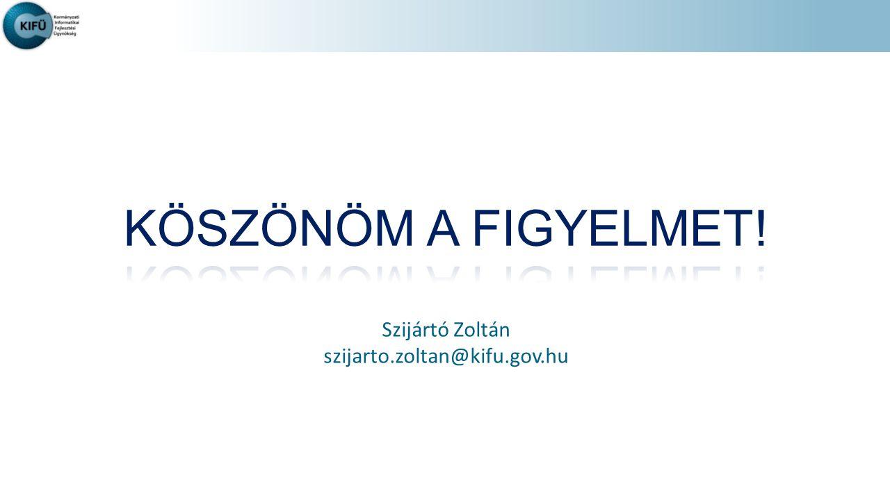 Szijártó Zoltán szijarto.zoltan@kifu.gov.hu