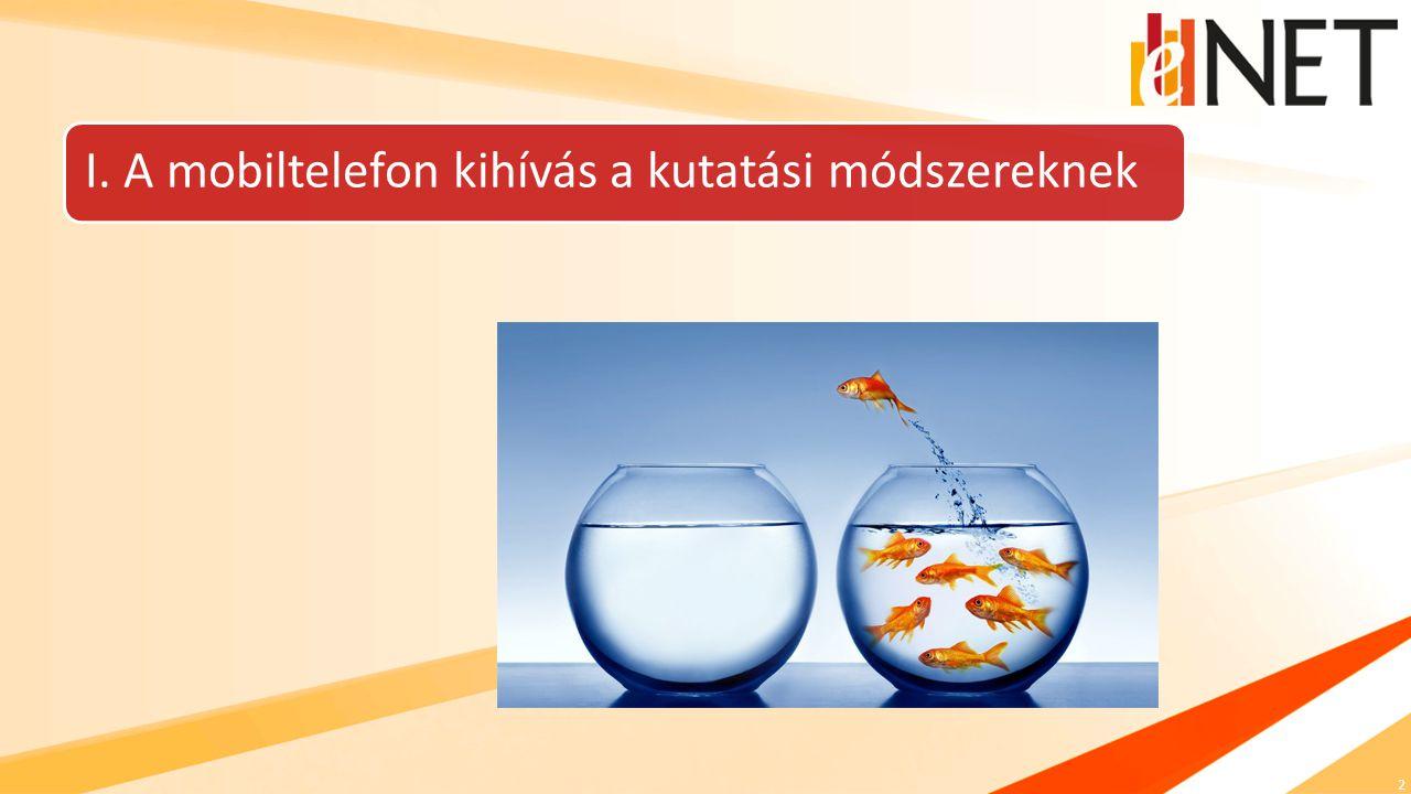 2 I. A mobiltelefon kihívás a kutatási módszereknek