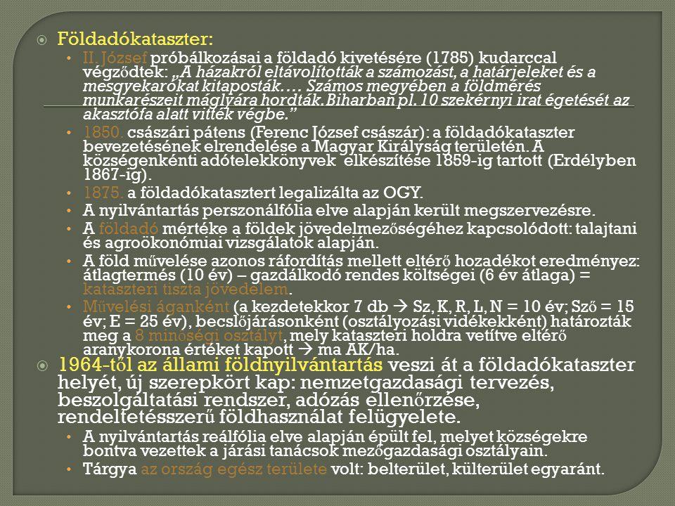 •Az alrészleteket a magyar abc kisbetűivel kell jelölni.