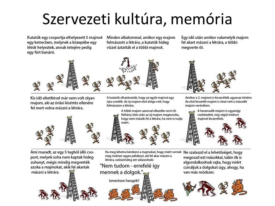 Szervezeti kultúra, memória