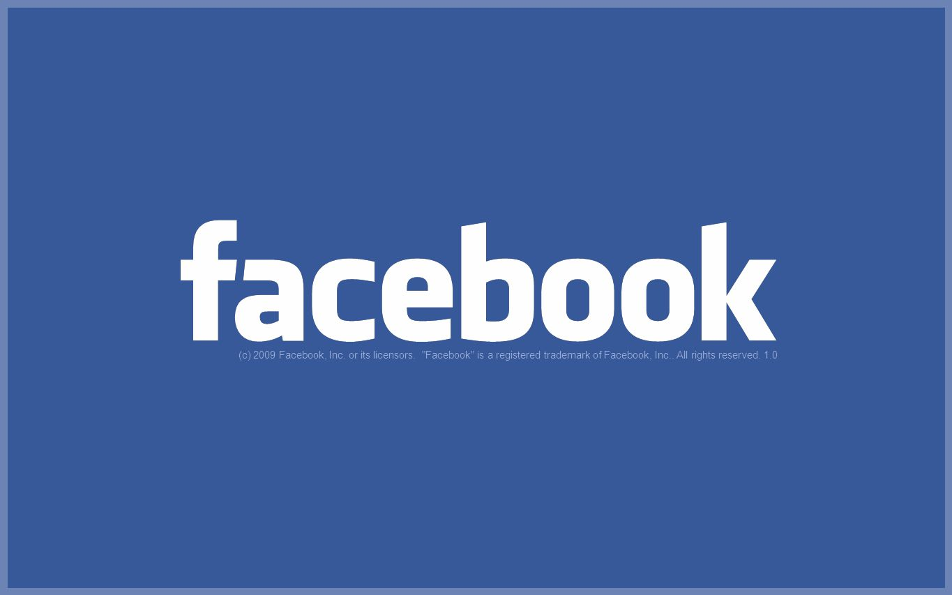 (c) 2009 Facebook, Inc. or its licensors. Facebook is a registered trademark of Facebook, Inc..