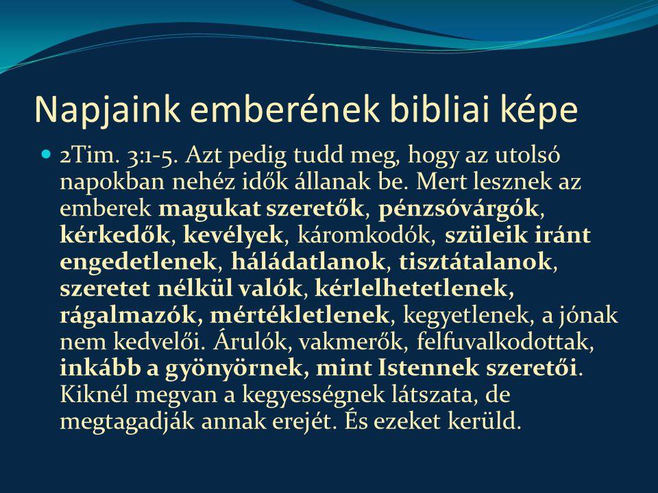 Érvényes-e a tízparancsolat.1.  Mt 19:16-26.