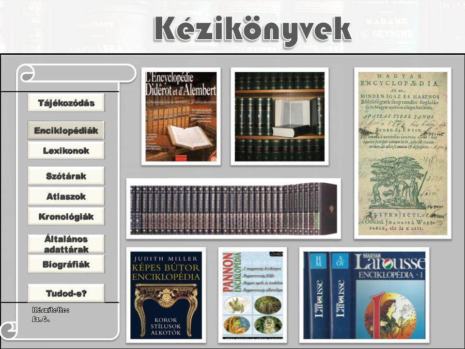 Lexikon: görög eredetű szó, régen szótárt jelentett.
