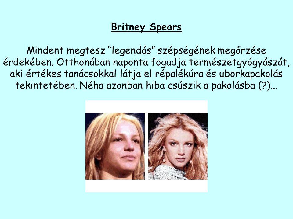 Britney Spears Mindent megtesz legendás szépségének megőrzése érdekében.