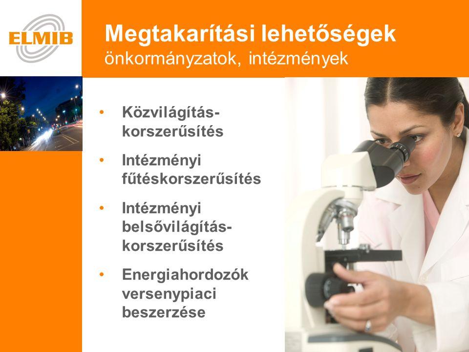 e Belsővilágítás-korszerűsítés Vajon örülne a soproni kórház, ha nem kellene 3 évig fizetnie az áramért.