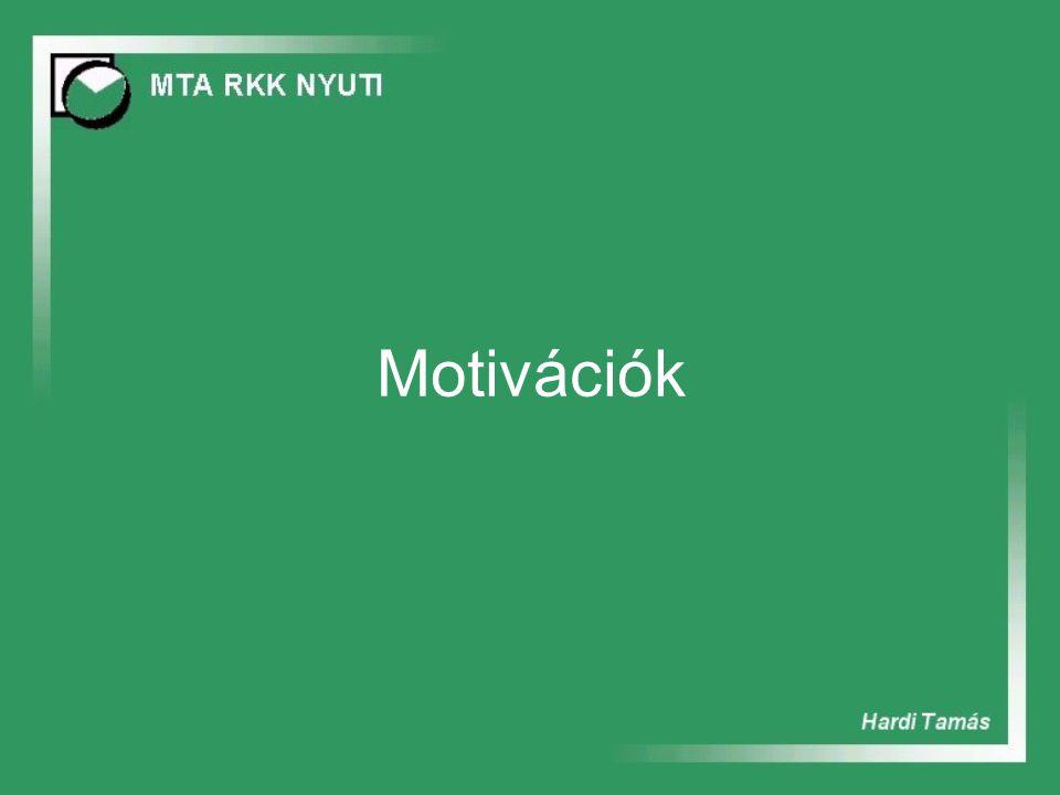 Motivációk