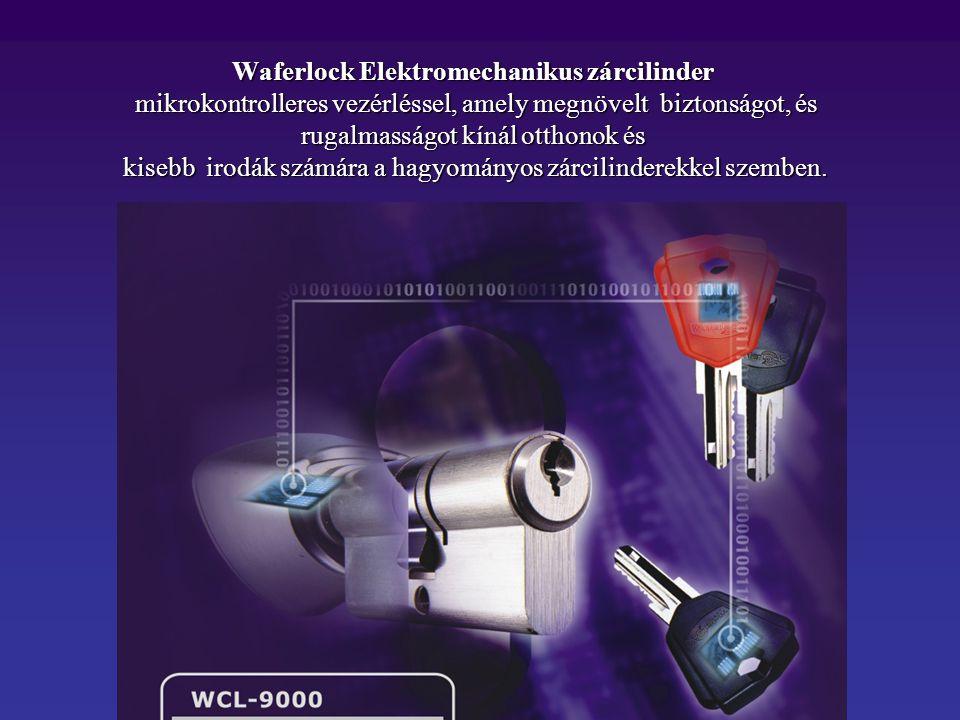 Waferlock Elektromechanikus zárcilinder mikrokontrolleres vezérléssel, amely megnövelt biztonságot, és rugalmasságot kínál otthonok és kisebb irodák számára a hagyományos zárcilinderekkel szemben.