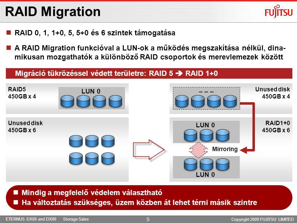 ETERNUS DX60 and DX80 Storage Sales Fujitsu Eternus – NetApp – más Storage © Fujitsu Siemens Computers 2009 All rights reserved 16