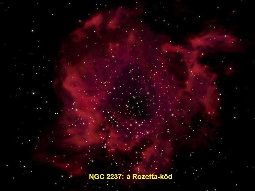 NGC 2237: a Rozetta-köd