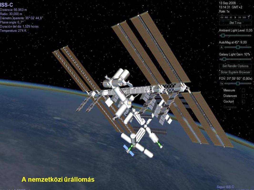 A nemzetközi űrállomás