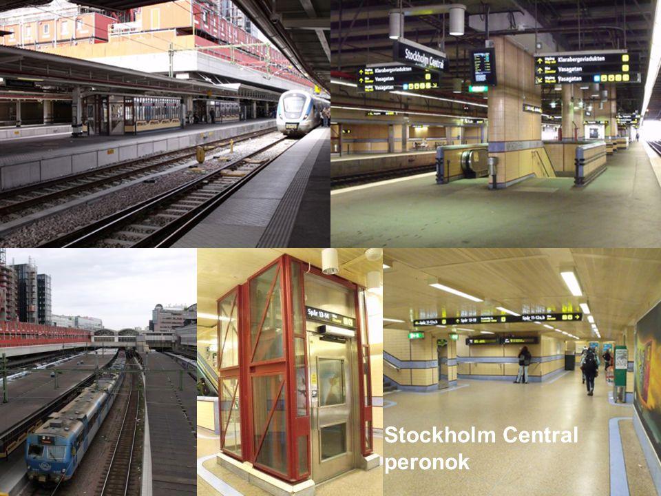 Stockholm Central peronok