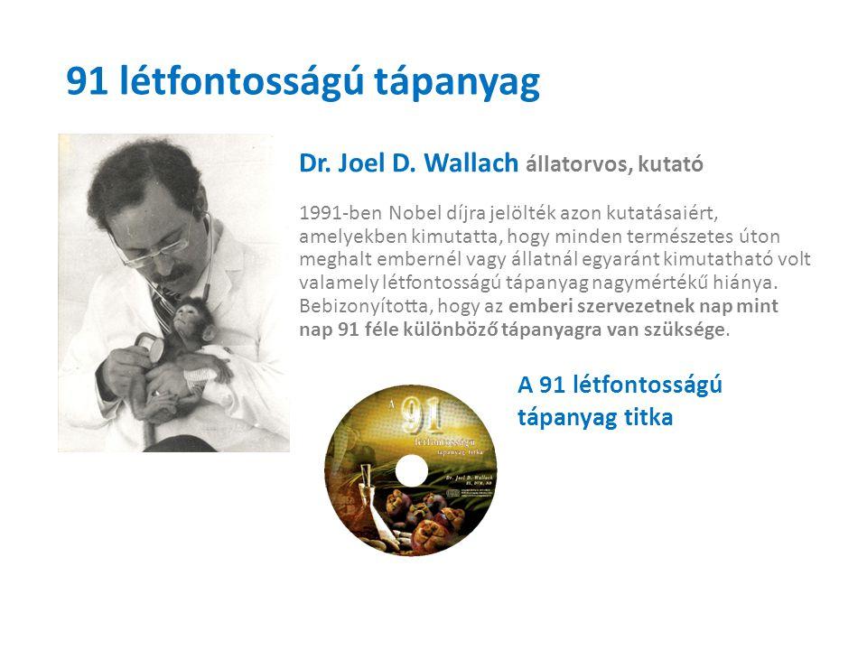 91 létfontosságú tápanyag Dr.Joel D.