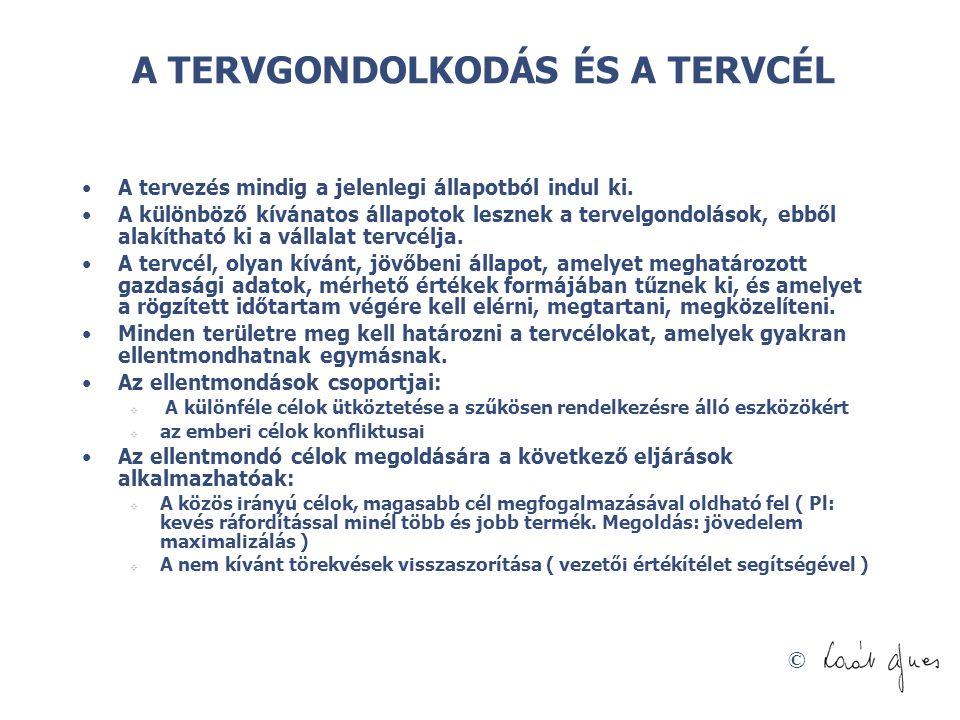 © A kerettervezés csekély használhatóságának okai Forrás: Tiirnitz Tamás á Krekő István: A hagyományos kerettervezésen túl (BCE előadás, 2005.