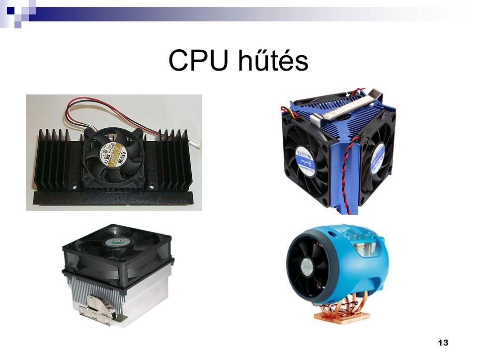 13 CPU hűtés