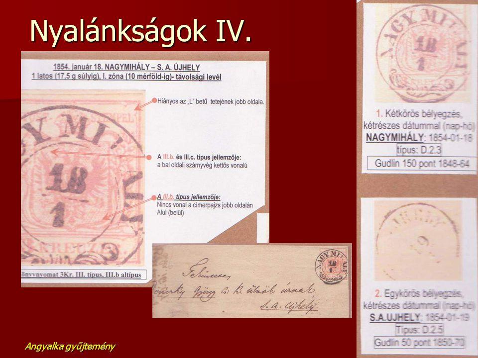 Nyalánkságok IV. Angyalka gyűjtemény