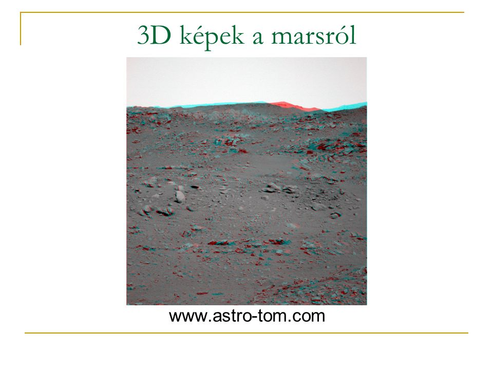 3D képek a marsról www.astro-tom.com