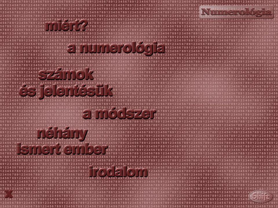 AZ EGYIK ELNÖK 11 enyhe jellemerő (tartalék nélkül); 333 nagyon erős ismeret- és ismertségvágy; 666 nagyon erős földeltség, uralomvágy; 333-7 erős vérmérséklet