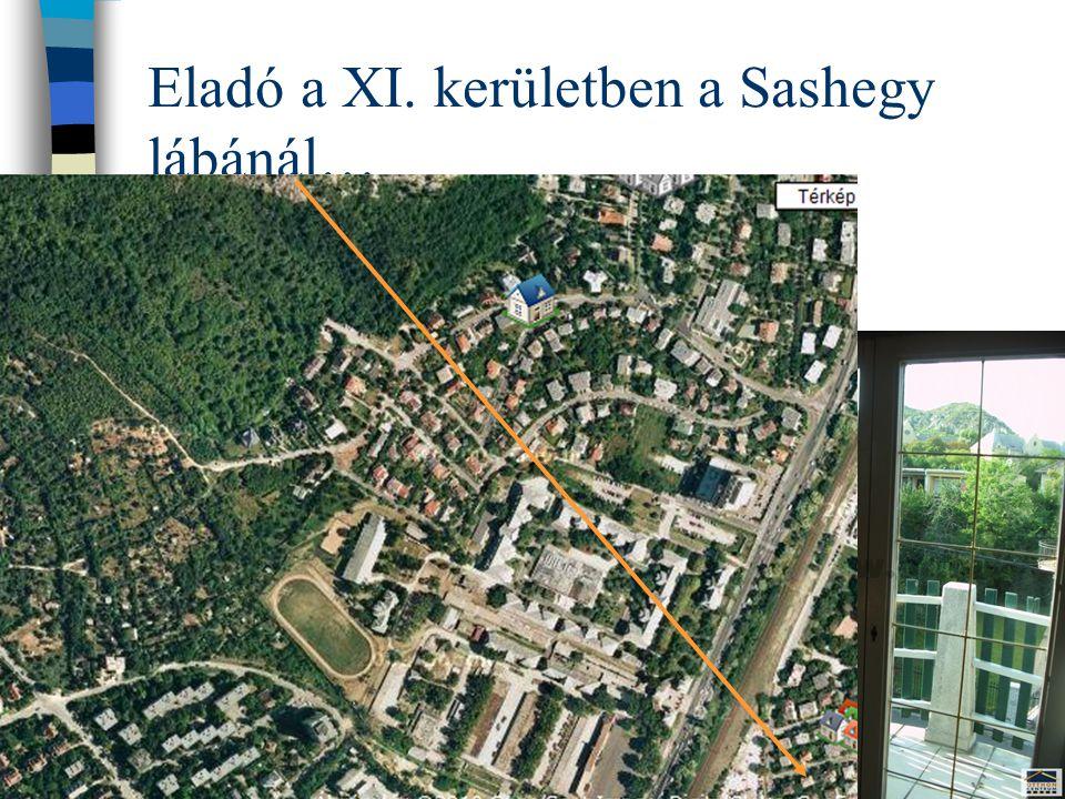 Eladó a XI. kerületben a Sashegy lábánál…