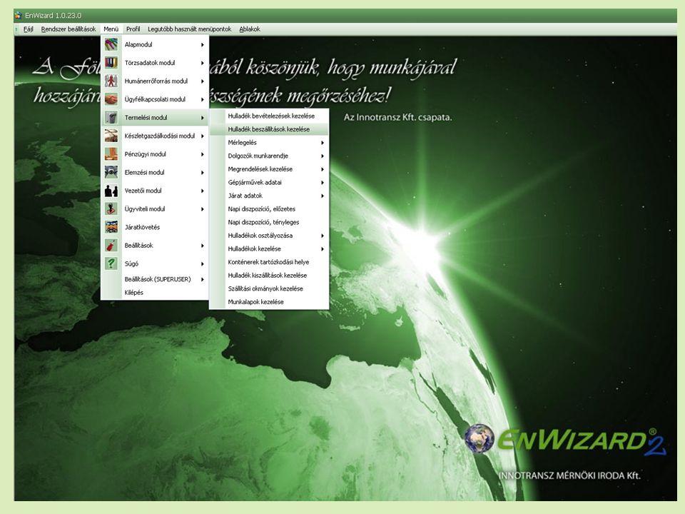 2010. május 12.INNOTRANSZ Mérnöki Iroda Kft. – Informatikai megoldások a környezetvédelemben