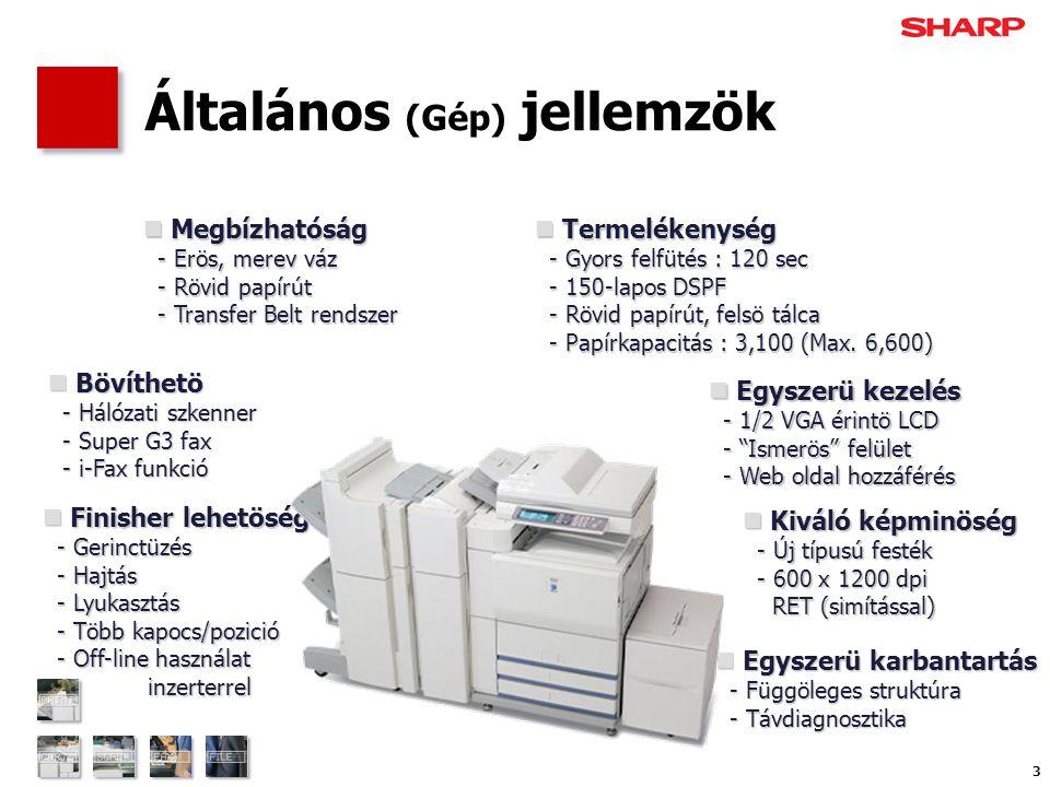 """34 Széleskörű felhasználás -5- Fedőlap és (jelölőfüles) Elválasztólap A nyomtató meghajtóban az """"Eltérő papír beállításoknál megadhatjuk az eltérő fedő- és betétlapokat."""