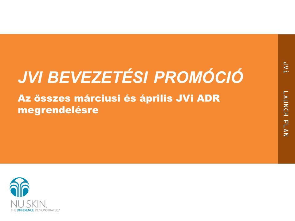 Elismerjük elköteleződését Úgy véljük, hogy mindazok, akik olyan mértékű bizalmat és hitet szavaznak vállalatunknak és termékeinknek, hogy készek a bevezetést követően rögvest JVi ADR megrendelést futtatni, jutalmat érdemelnek…