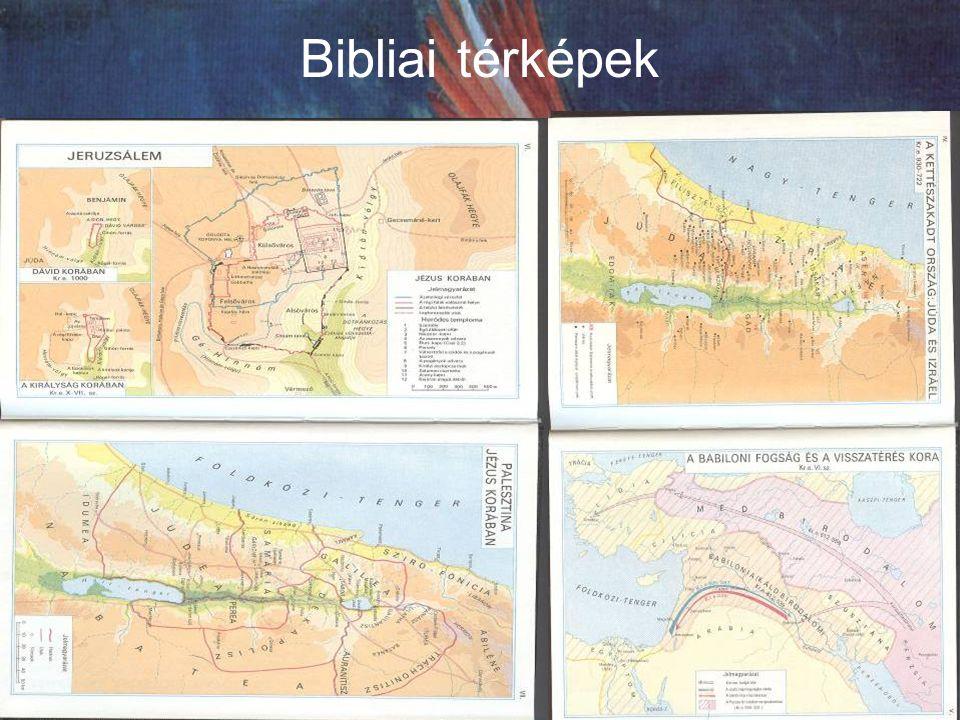 Bibliai térképek