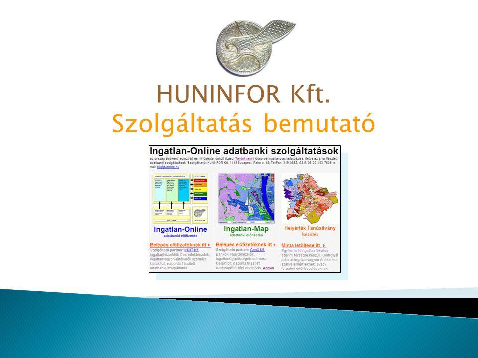 HUNINFOR Kft. Szolgáltatás bemutató
