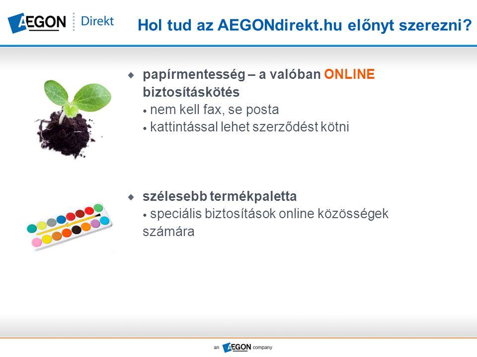 Hol tud az AEGONdirekt.hu előnyt szerezni.