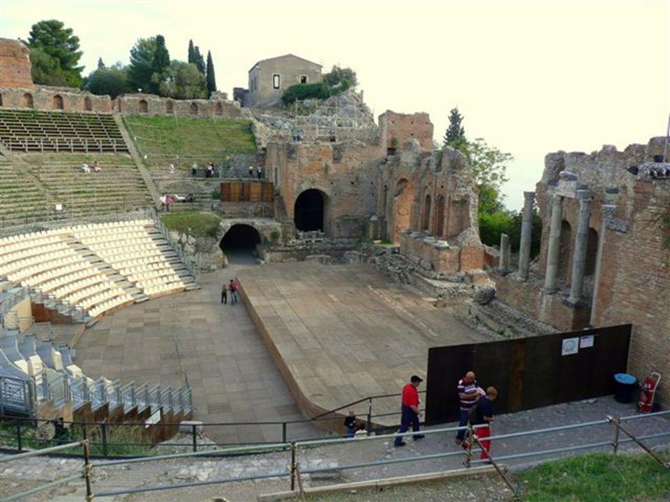 Taormina, a Teatro greco, azaz a Görög színház
