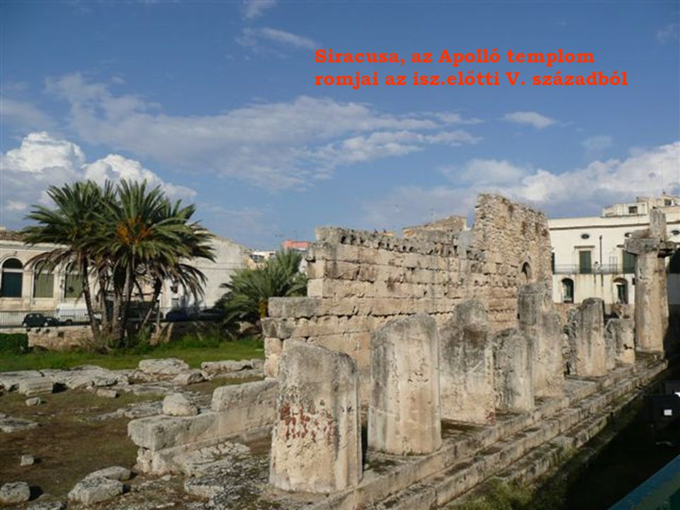 Siracusa óvárosa, Ortigia szigetén