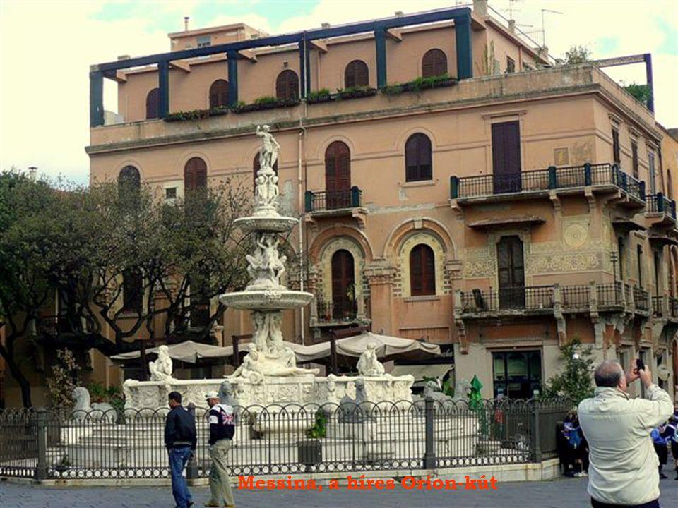 Messina, a híres Orion-kút