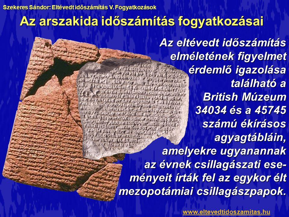 A fogyatkozások képei a könyvből www.eltevedtidoszamitas.hu Szekeres Sándor: Eltévedt időszámítás V.